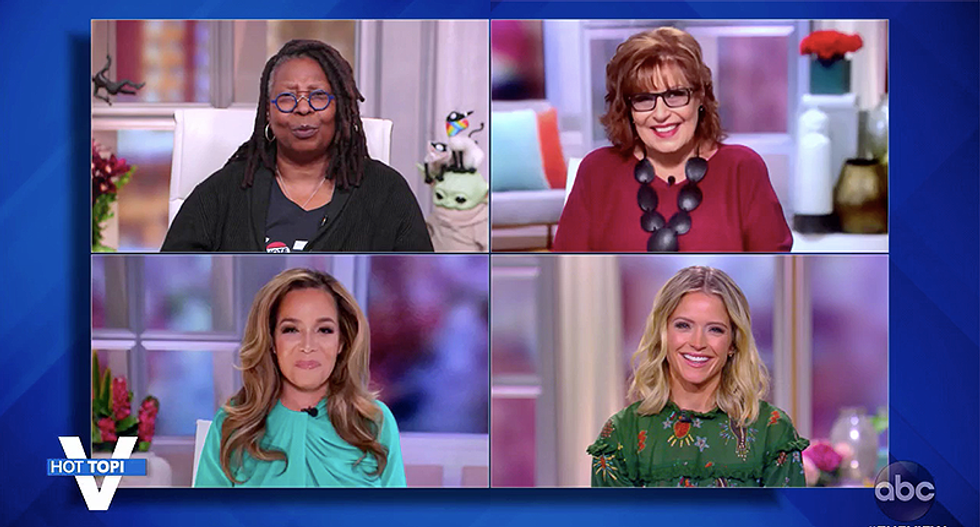 The View hosts mock Trump for being too afraid to debate: 'Why don't they just wheel him in in a straitjacket'