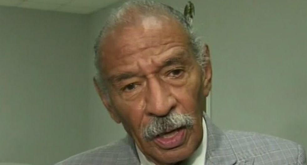 Congressional Black Caucus is seeking ways to get Rep. Conyers to resign over sexual misconduct allegations
