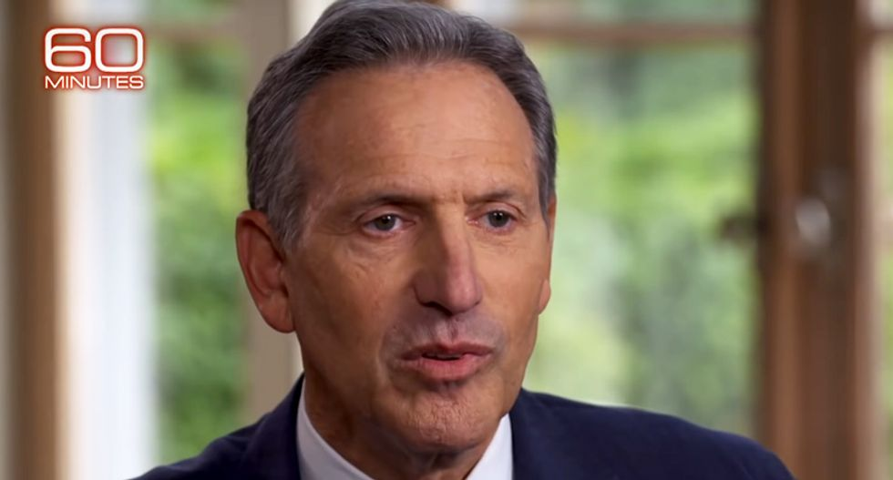 Howard Schultz buried in scorn after floating presidential run: 'His dangerous vanity project sparks joy in no one'