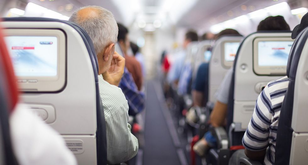 Woman publicly shames alleged plane groper after police dismiss it as 'not the crime of the century'