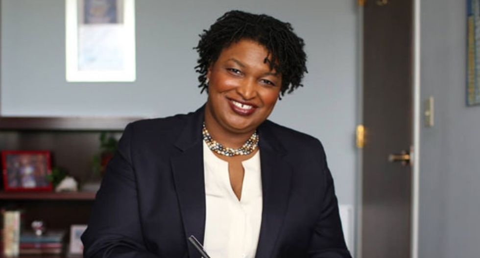 Stacey Abrams says she is still considering a presidential run