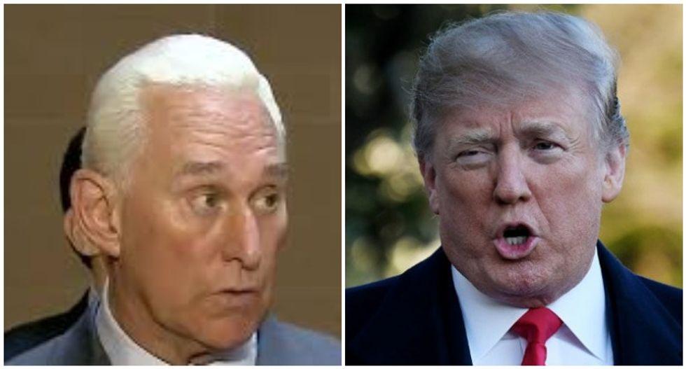 Donald Trump calls Roger Stone and tells him that he'll commute sentence: NBC