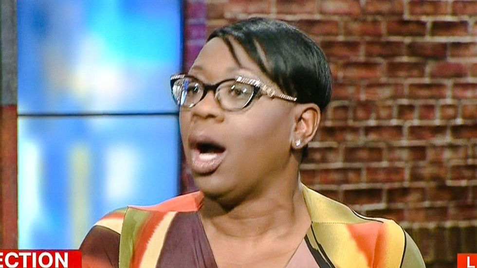 'Oh my Lord Jesus': Watch Nina Turner gasp as CNN host claims Bernie supporters threw chairs