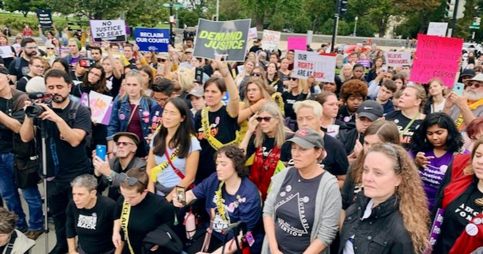 'Unfit to sit': Rallies demand Bret Kavanaugh impeachment on one-year anniversary of Senate confirmation