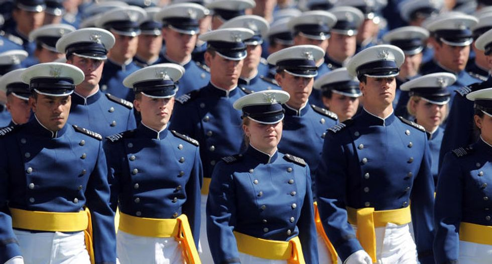 GOP lawmaker: Air Force cadets must pledge to God because there is no 'freedom from religion'