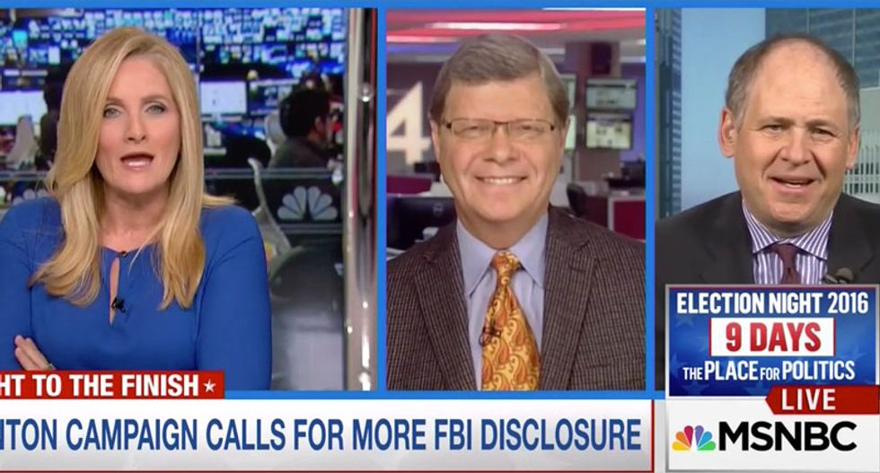 MSNBC analyst: Comey is acting like a 'banana Republican' trying to overthrow the government