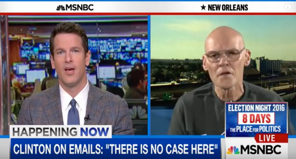 James Carville: 'Call it what it is' Comey and the GOP are 'trying to hijack the election!'