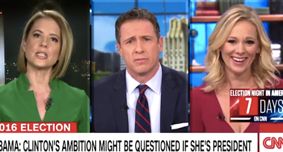 CNN's Chris Cuomo gets schooled after admitting he expects more from women: 'It's paternalistic'