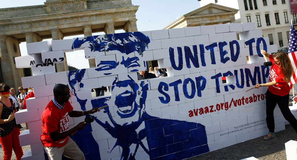 European leaders would see a Donald Trump victory as total calamity