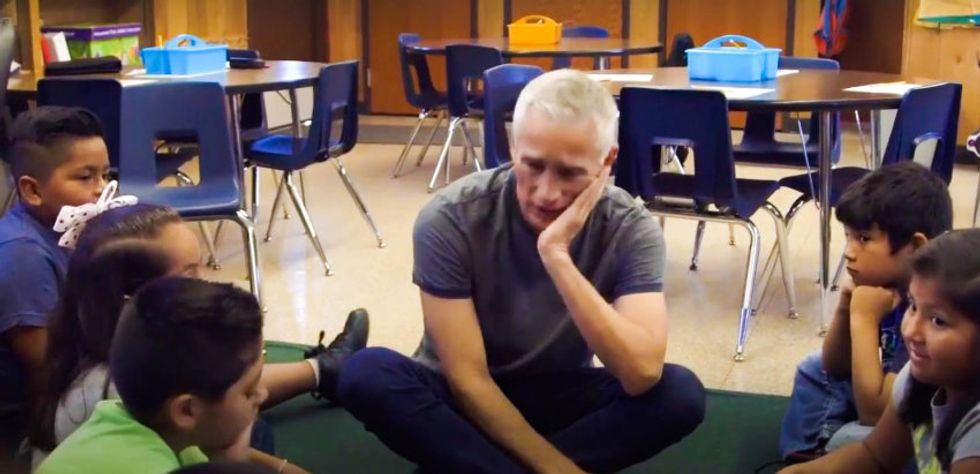 WATCH: Jorge Ramos shows how Trump's candidacy is traumatizing young Latino kids