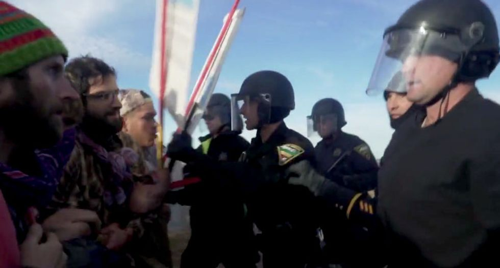Here is how to contact the people who sent militarized police to Standing Rock