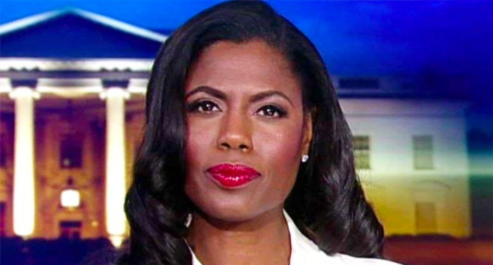 """There's at least 1 person in the White House who Omarosa thinks is """"amazing"""""""