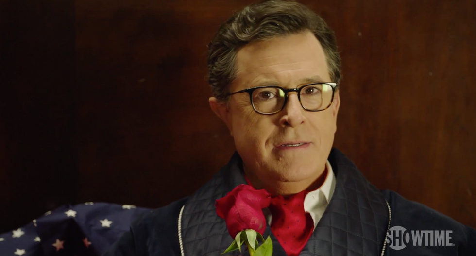 'Bite me, Walter Cronkite': Stephen Colbert promises a very different kind of election night coverage