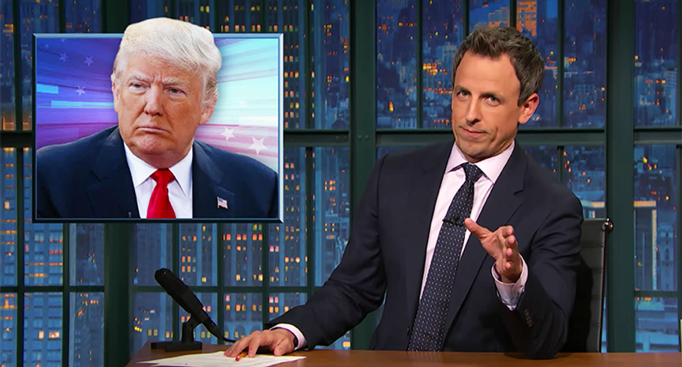 Seth Meyers: Candidate Trump killed the 'generous, intelligent billionaire' character he played on TV