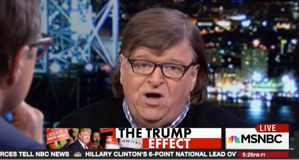 Michael Moore: Men better get ready for President Hillary because their '10,000 year reign is over'