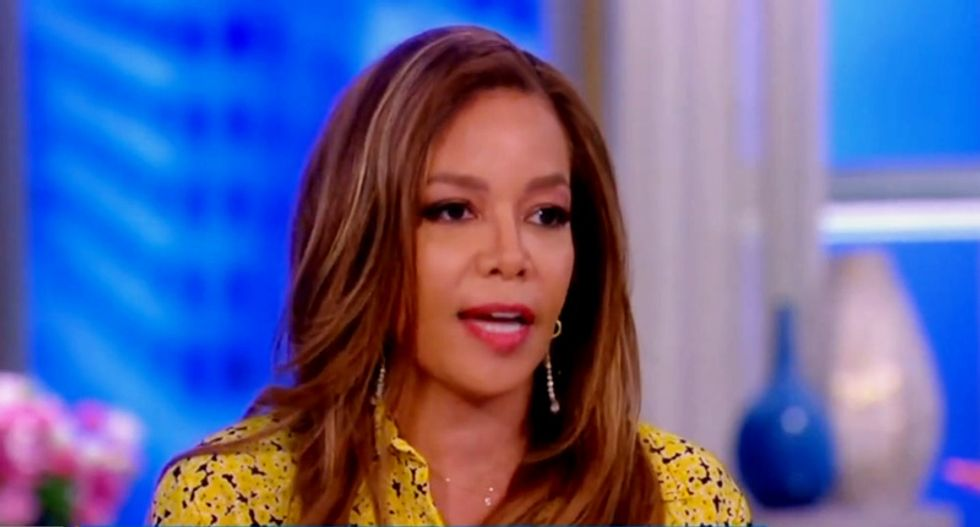 The View's Sunny Hostin can't believe National Enquirer was stupid enough to blackmail Bezos