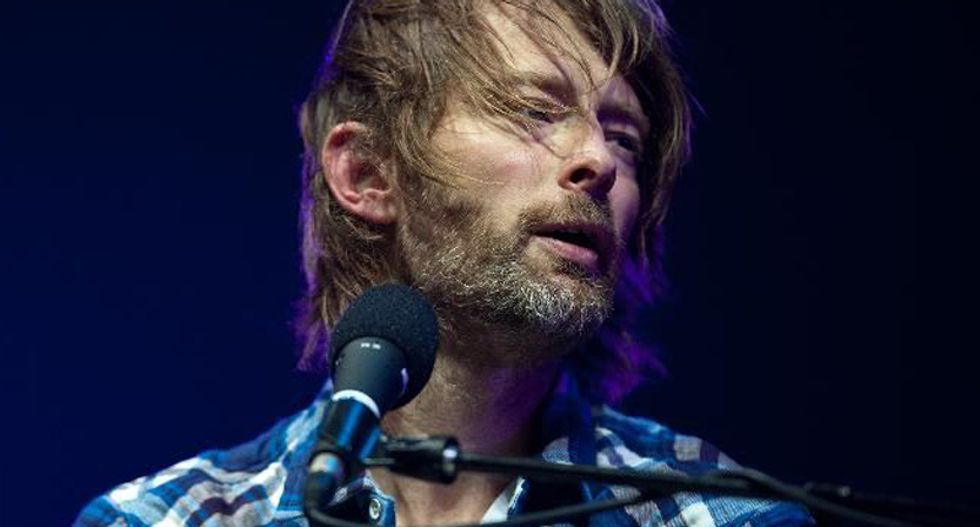 Radiohead frontman Thom Yorke surprises fans with album by file-sharing