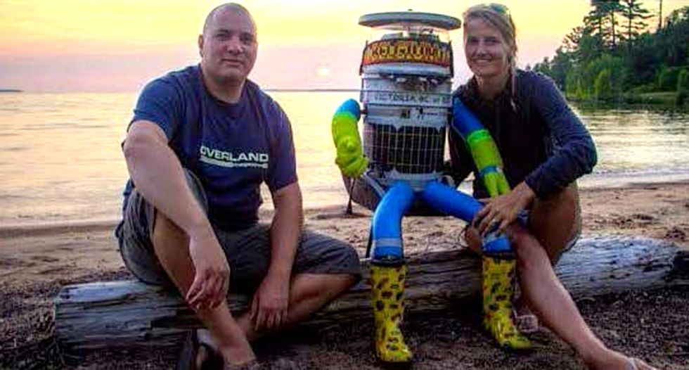 How a robot traveled 3,700 miles across Canada relying on the kindness of strangers