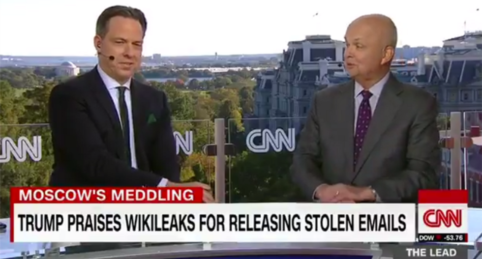 Former CIA director says the Russians have a name for Trump: 'Useful idiot'