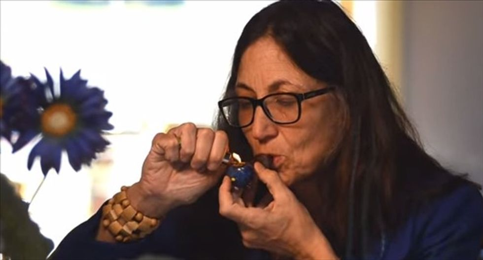 RI candidate lights up in ad : 'We've been lied to' by the government about pot