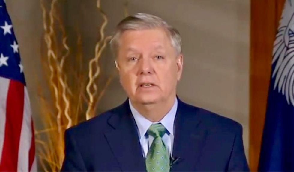 Graham: Trump won't sign a funding bill that offers wall funding in exchange for less ICE beds