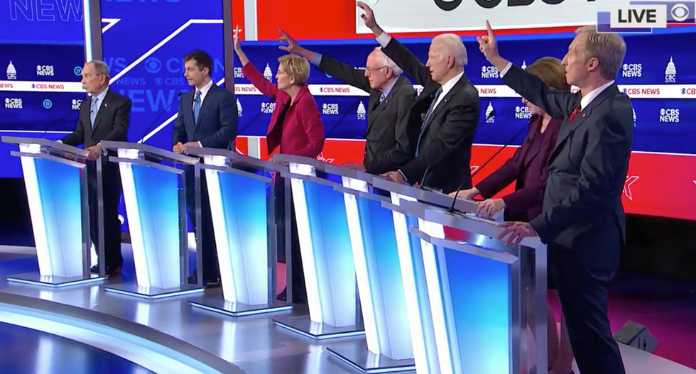 Conservative columnist ridiculed for #DemDebate commentary that was so bad it was declared 'art'
