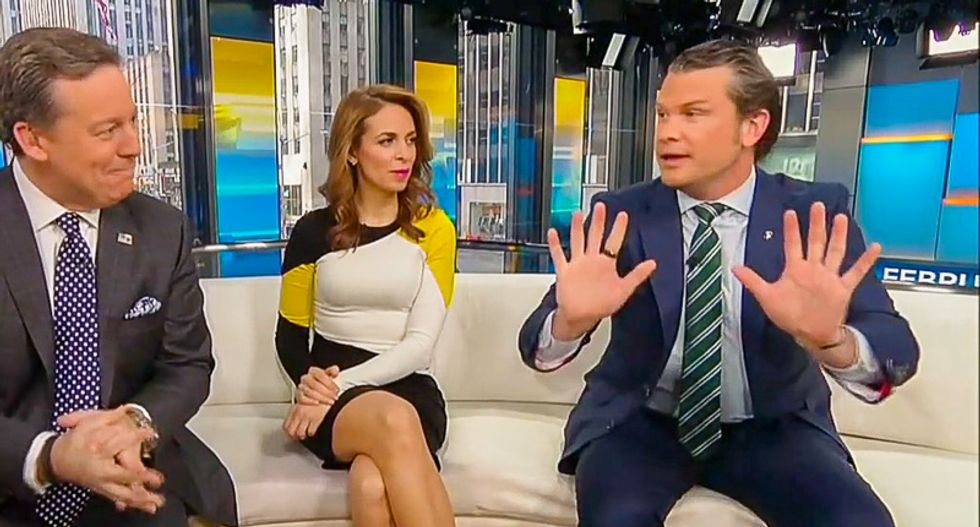 'Never ever shake his hand': Twitter users pile on Fox News host's claim that 'germs are not a real thing'