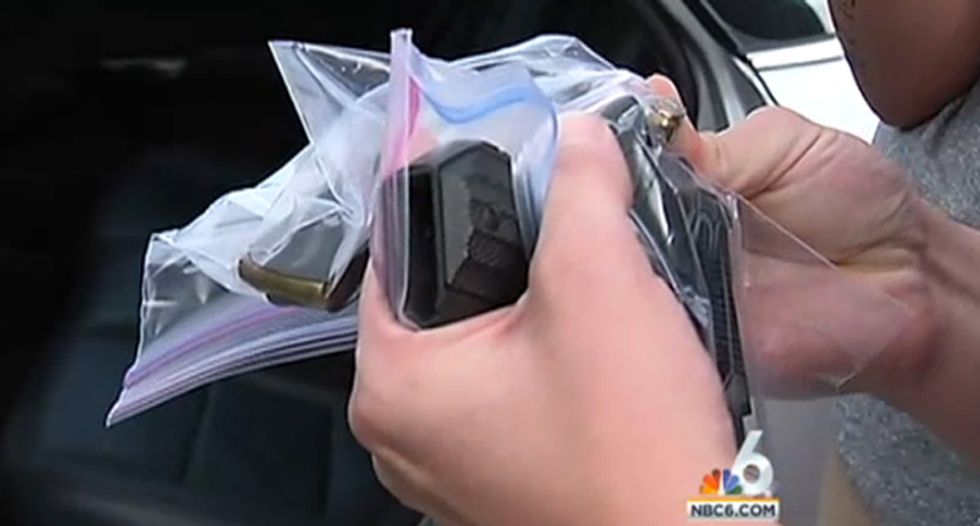 2-year-old discovers loaded handgun with safety off in Florida rental car