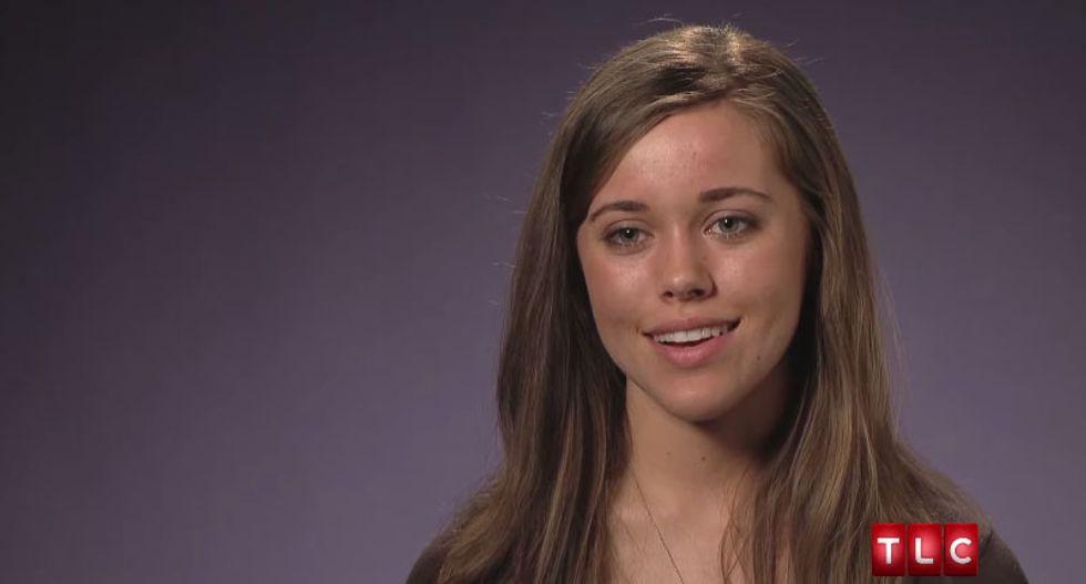 Reality TV star Jessa Duggar blames the Holocaust on the theory of evolution