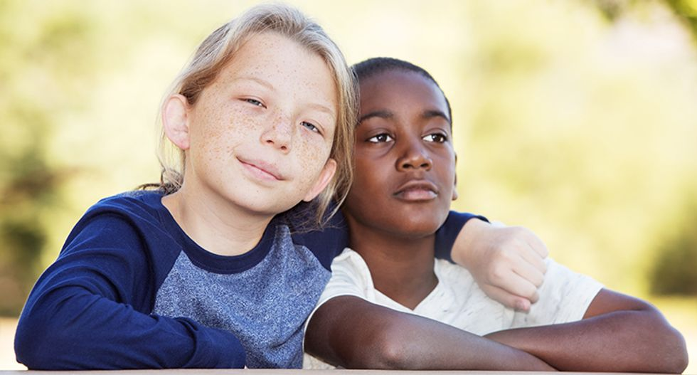 Are today's white kids less racist than their grandparents?