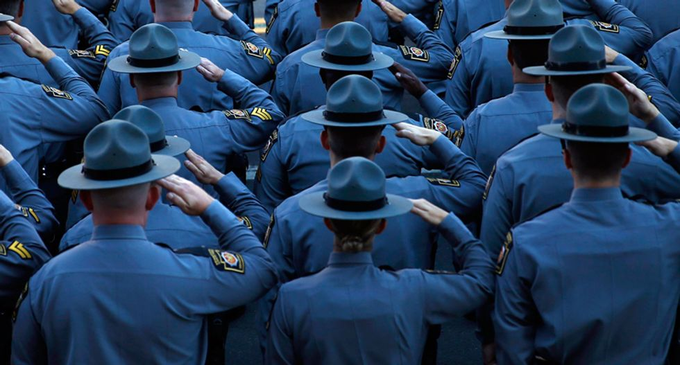 Pennsylvania trooper accidentally shot dead during gun training