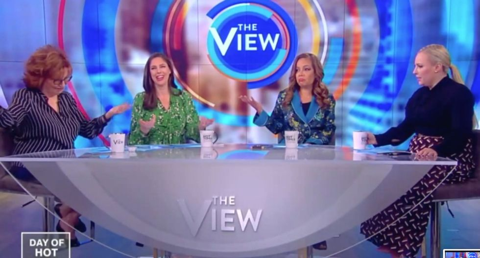 The View mocks the National Enquirer for trying to 'blackmail the richest man in the world'