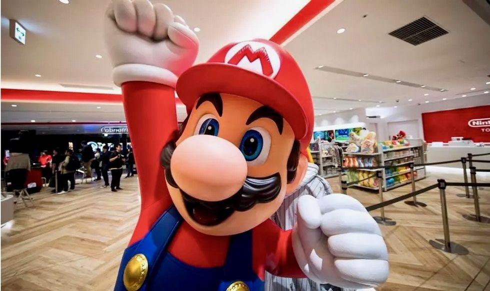 Super Mario to make theme park debut in Japan next year