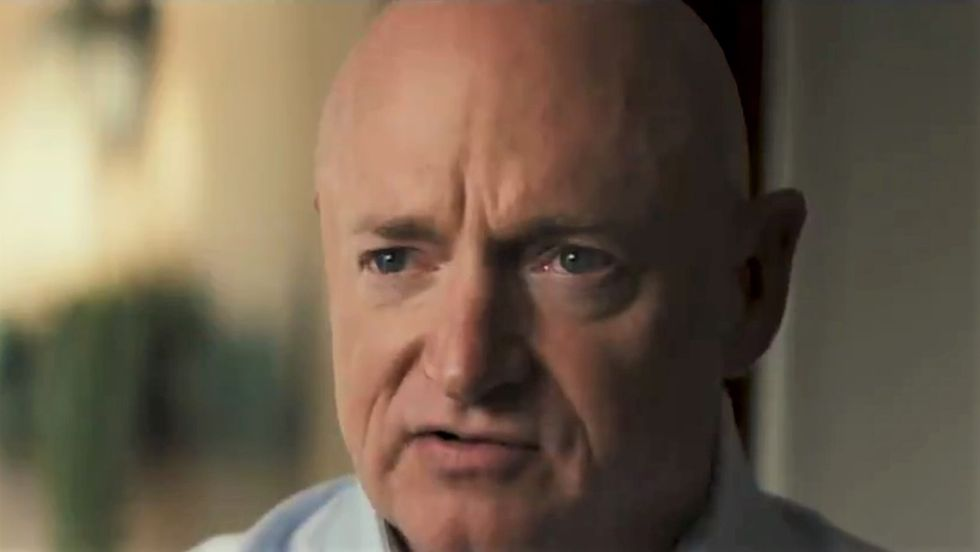 'Stop Mark Kelly dead in his tracks': Arizona GOP chair sends out ominous fundraising pitch against Gabby Giffords' husband
