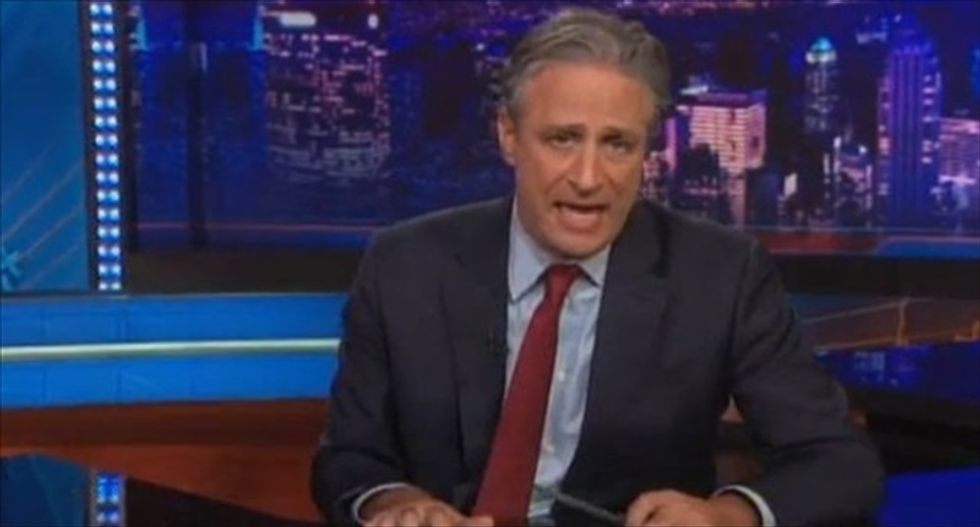 Stewart slams Secret Service flubs: So bad, 'Ebola doesn't feel safe in the White House'