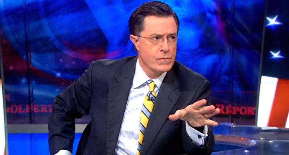 Deathpocalypse now! Stephen Colbert ridicules Fox News' fear-mongering Ebola buffoonery