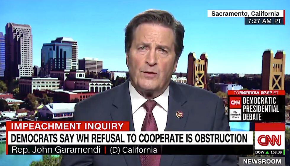 Dem Rep says Trump officials -- including Bill Barr -- should be jailed for refusing to comply with impeachment inquiry