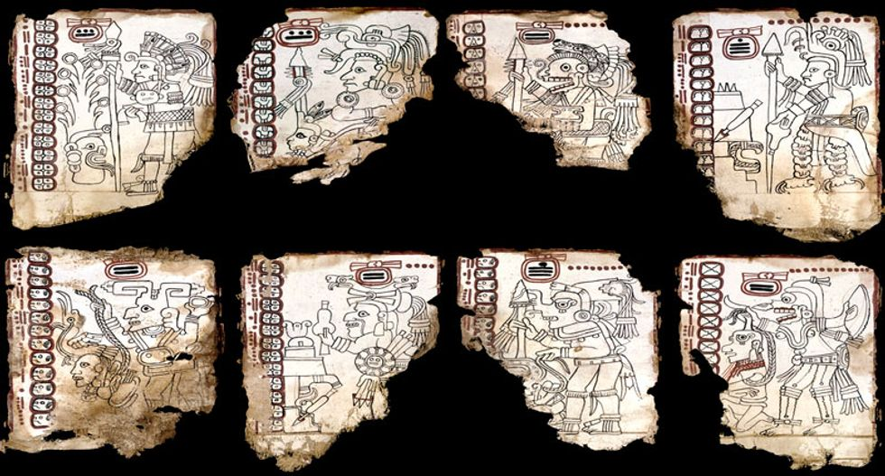 Once thought a fake, the Grolier Codex is our oldest surviving record of Maya civilization