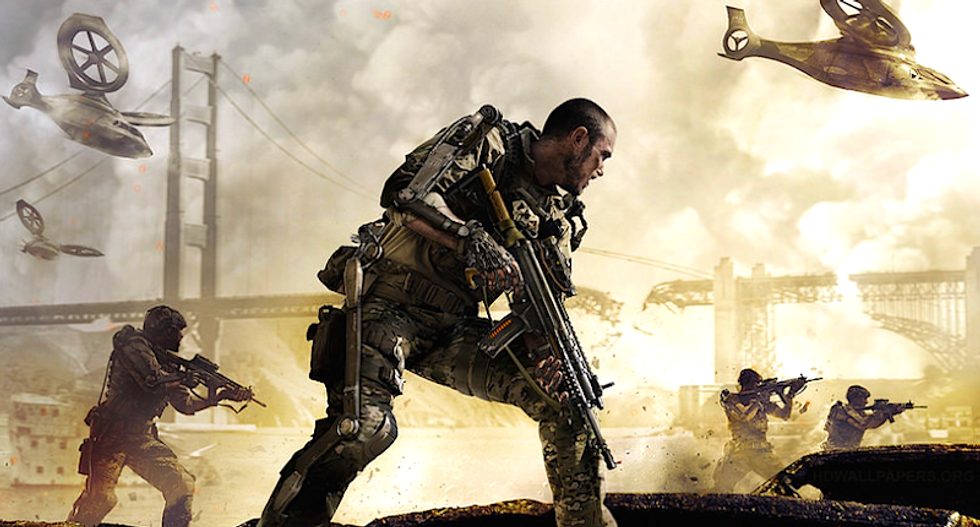'Call of Duty' ex-developer wants to 'brainwash' Americans to accept soldiers in schools