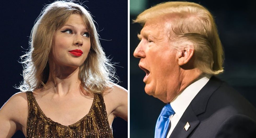 In political turn, Taylor Swift accuses Trump of 'autocracy'