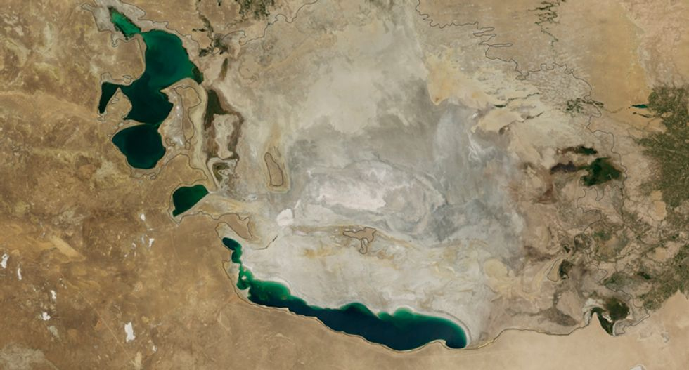 Humans drained the Aral Sea once before -- but there are no free refills this time around