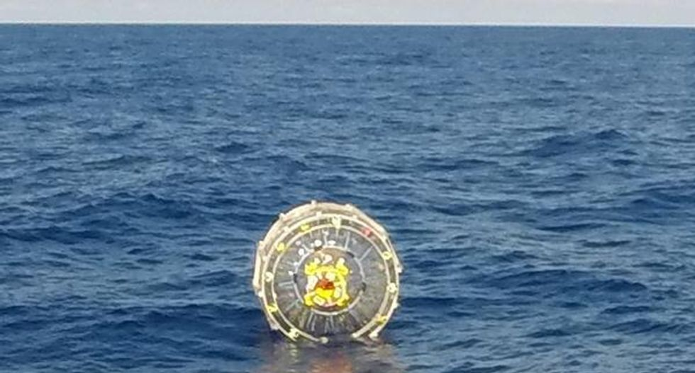 Coast Guard rescues man attempting to 'run' to Bermuda in inflatable hydro-bubble