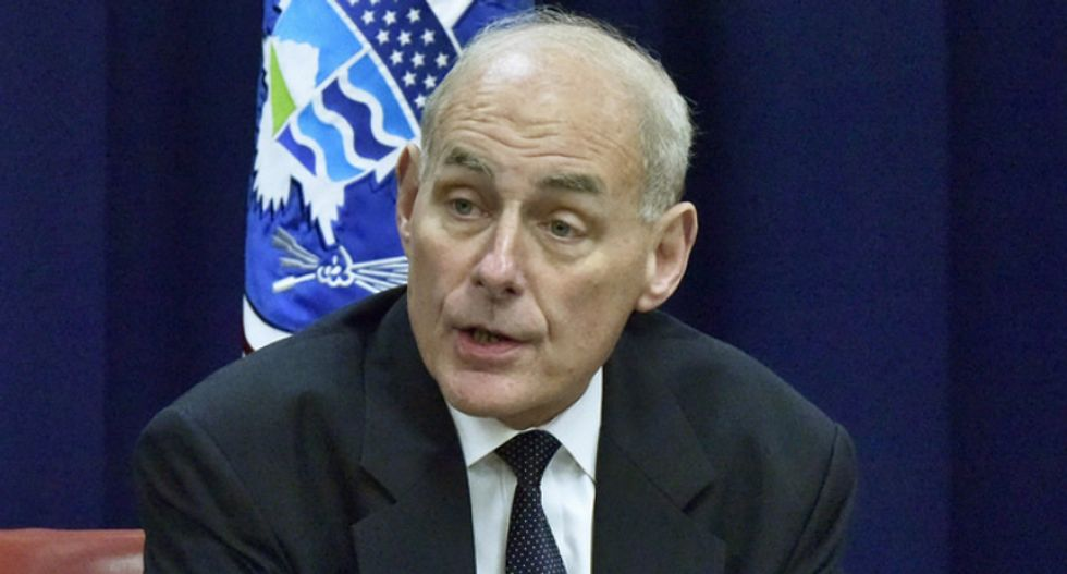 John Kelly rebukes Trump on immigrants at border: 'They're not criminals'