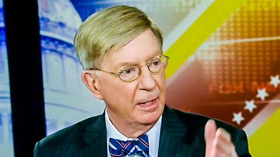 George Will links Ebola fears to Common Core, sexual assault probes, and green light bulbs