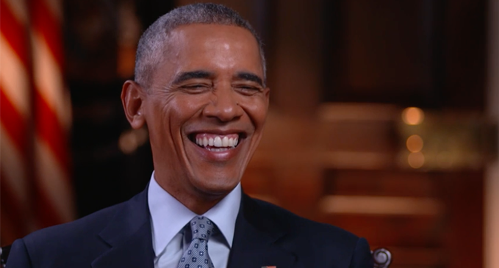 'I miss having a human president': The internet welcomes back Obama and his 'intelligible words'