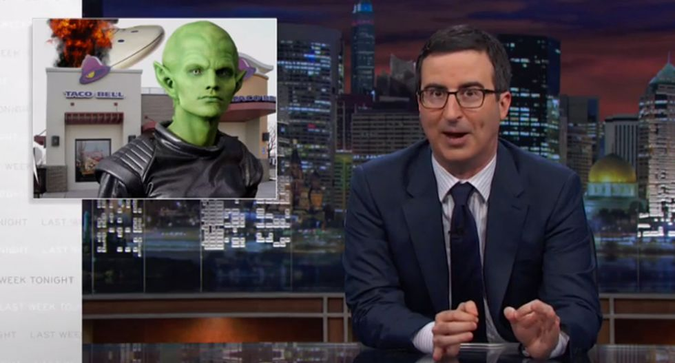 John Oliver: Civil forfeiture laws allow cops to steal our 'stuff' to buy 'toys'