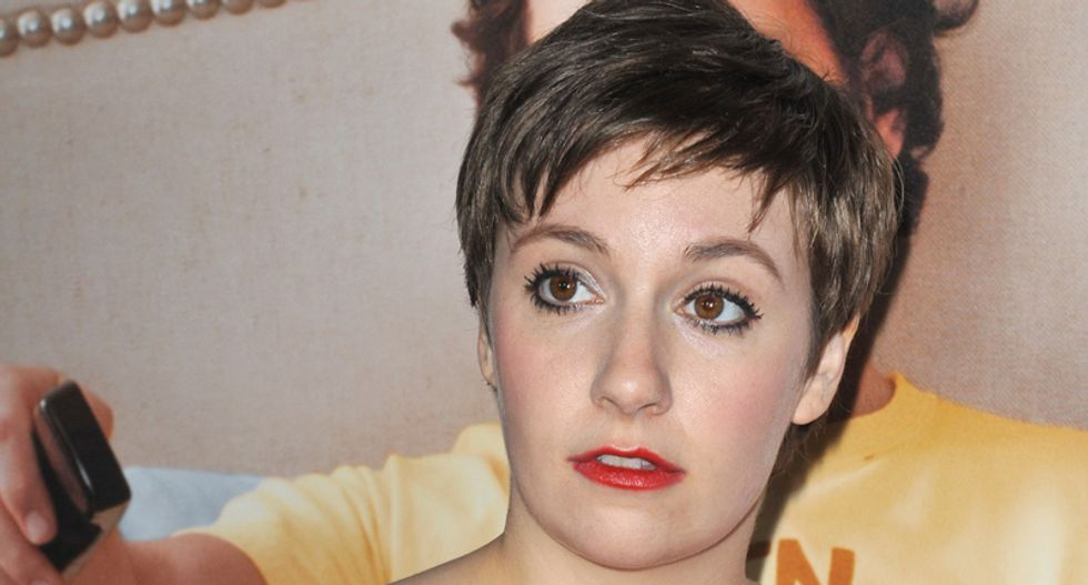 Writer trolls conservative Lena Dunham-haters on Twitter with fake quote, gets results