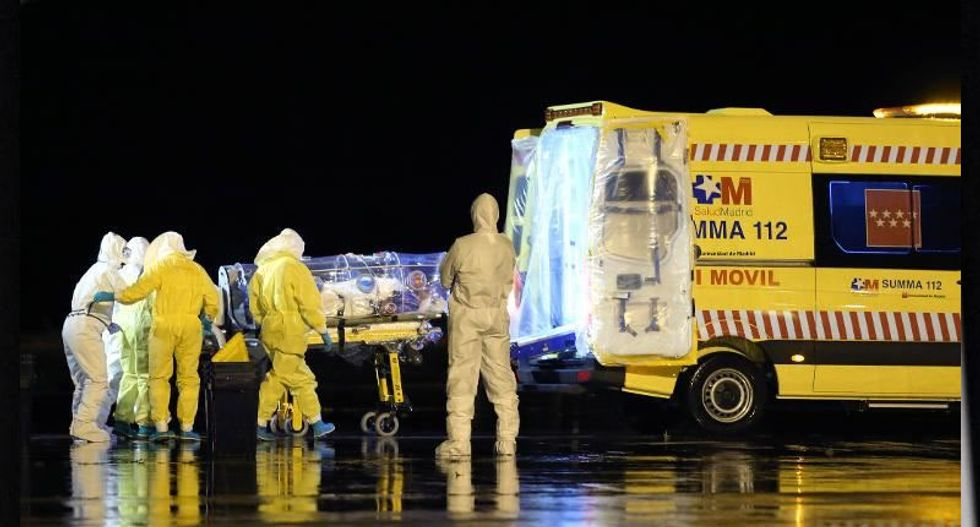 Spanish nurse first person to contract Ebola outside of Africa