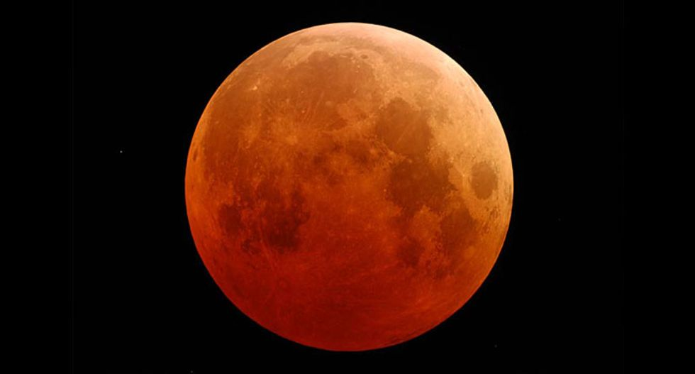 'Blood moon' eclipse to grace pre-dawn skies on Wednesday