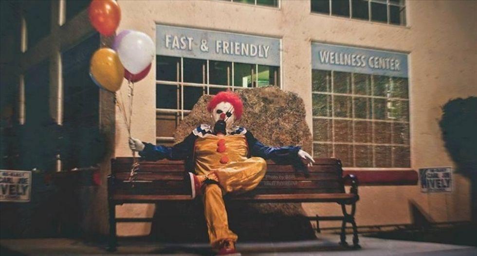 Creepy 'photo project' creates copycat clowns terrorizing Bakersfield